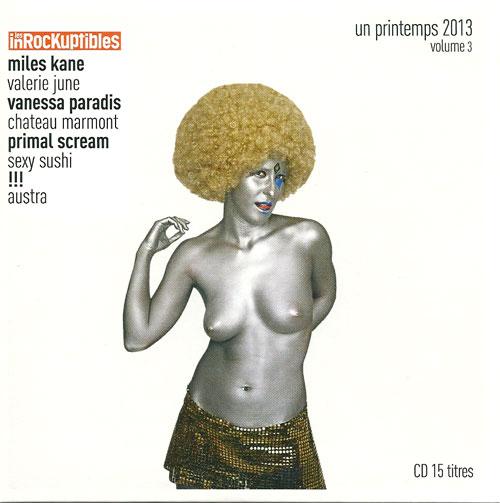 Compilation Les Inrockuptibles Un printemps 2013 Volume 3