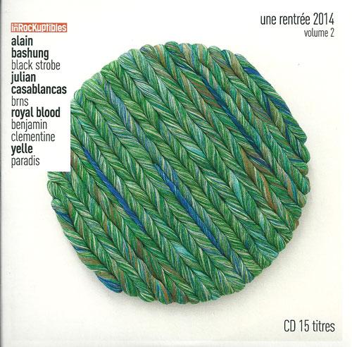 Compilation Les Inrockuptibles une rentrée 2014 volume 2