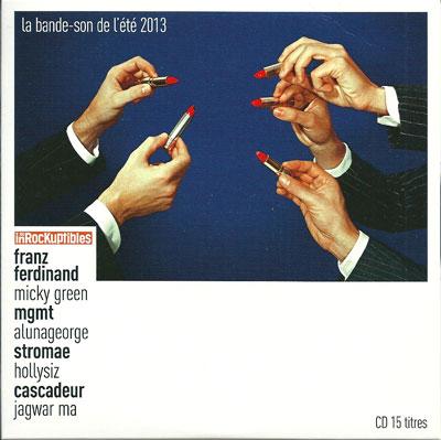 Compilation Les Inrocks La bande son de l'été 2013