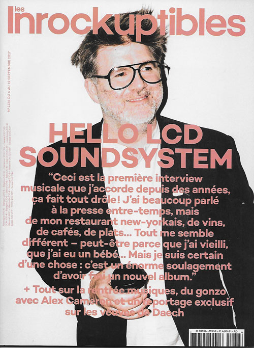 Les Inrockuptibles 1136 cover