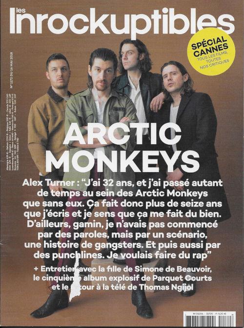 Les Inrockuptibles 1172 2018 05 Artic Monkeys cover