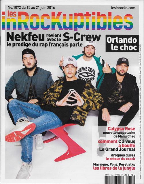 Les Inrockuptibles 1072 juin 2016