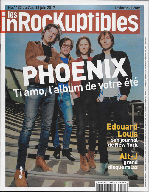 Les inrockuptibles 1123 cover
