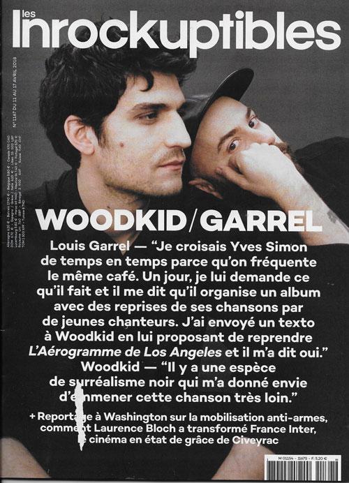 Les inrockuptibles n°1167 Avril 2018 cover